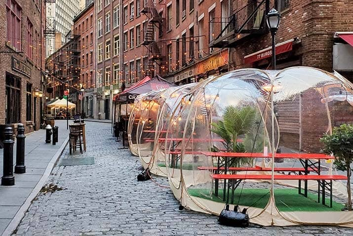 Creative Outdoor Seating Options in New York City