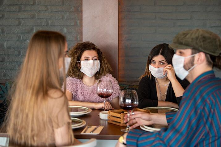 Restaurant Coronavirus Masks