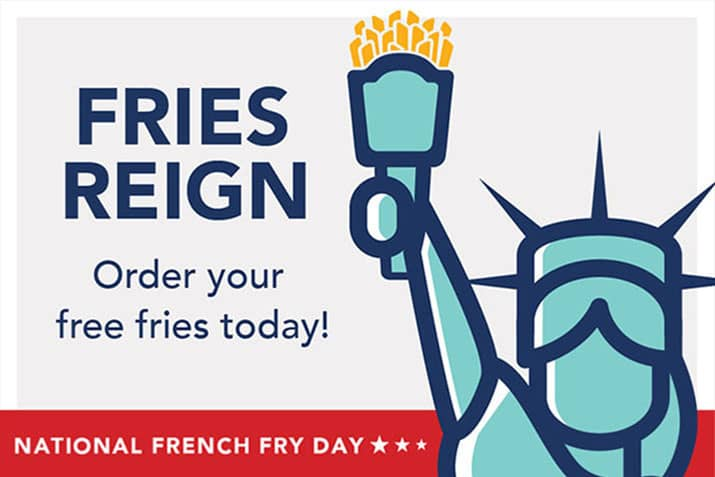 Lady Liberty_National Free Fry Day Logo