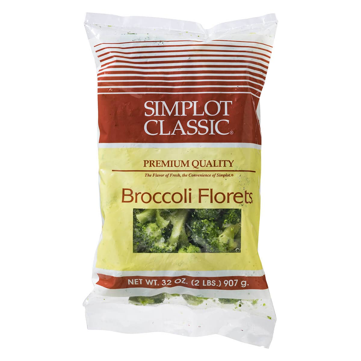 Simplot Simple Goodness™ Classic Vegetables Broccoli Florets, WetPack
