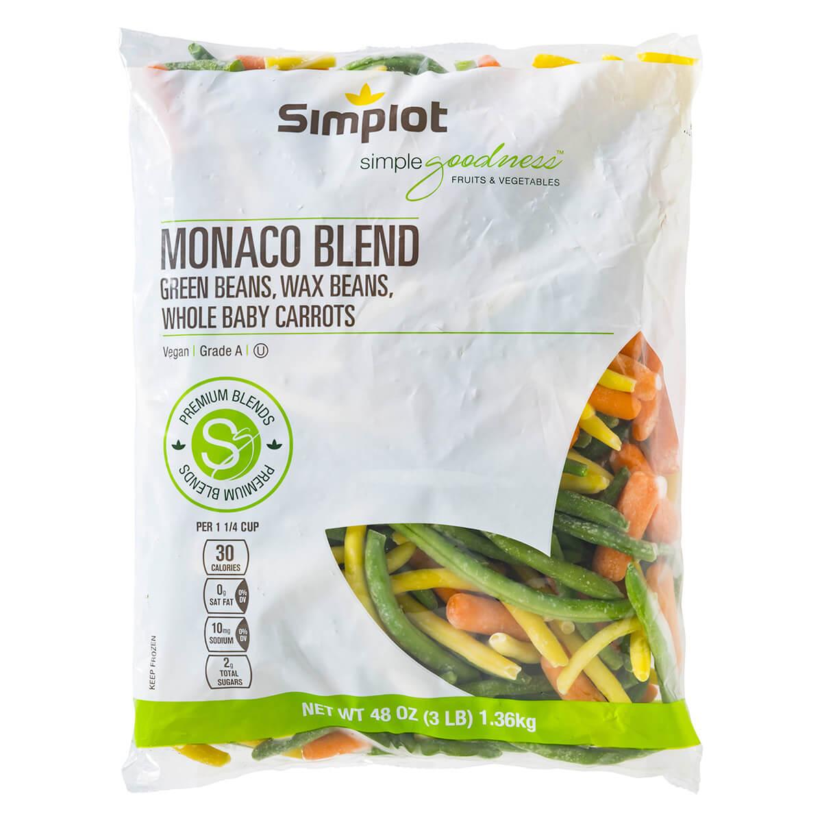 Simplot Simple Goodness™ Premium Vegetables Monaco Vegetable Blend
