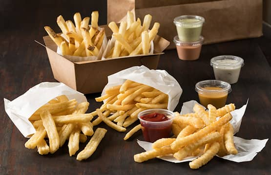 Simplot delivery fries