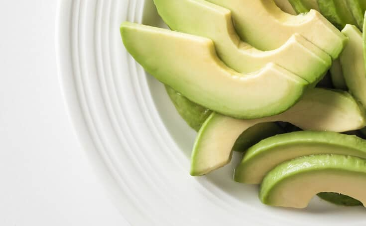 Sliced Avocado Image