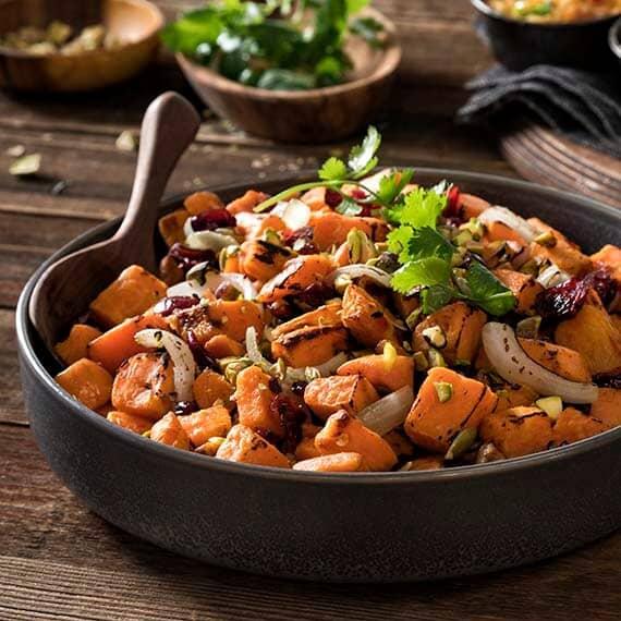 Harrisa Sweet Potato Salad Recipe