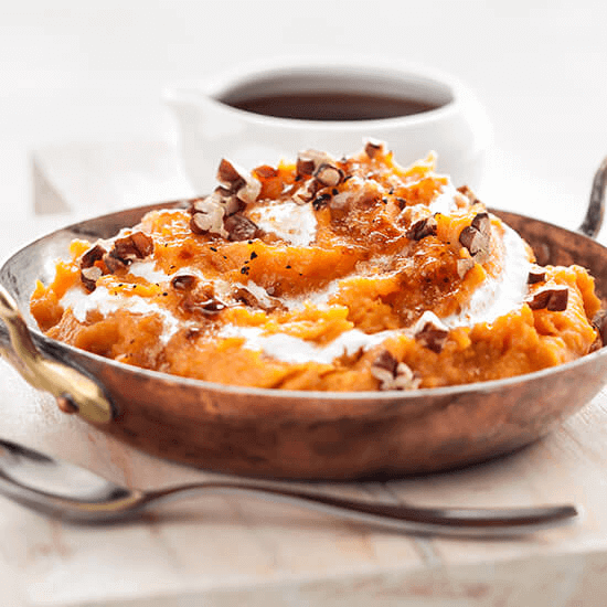 Sweet Treat Mashed Sweet Potatoes