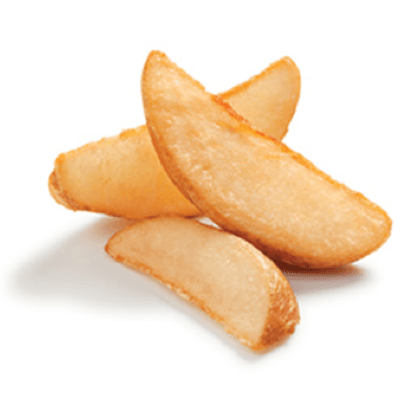 Wedge Cut Potatoes Image